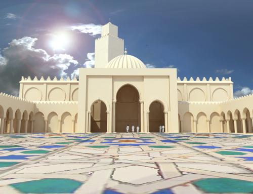 "Mezquita ""IBN Badis"" en Orán. Argelia"