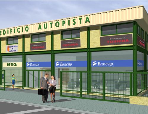 """Edificio Comercial """"Autopista"""" en Sevilla"""