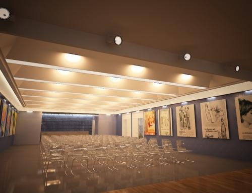 """Salón de Actos en Fábrica """"La Casera"""""""