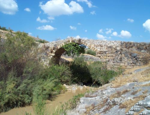 Puente Medieval en Alcaudete (Jaén)